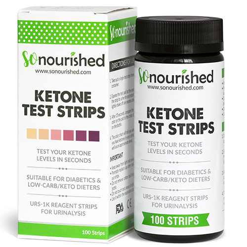 urine ketone strips for low carb diets