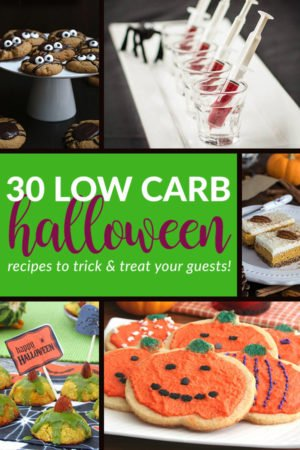 30 Low Carb & Keto Halloween Recipes