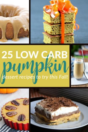 25 Delicious Low Carb Pumpkin Dessert Recipes