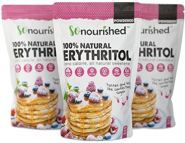 Three Erythritol Bags