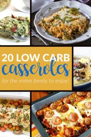 20 Low Carb Casseroles