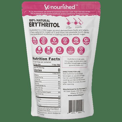 Erythritol Back