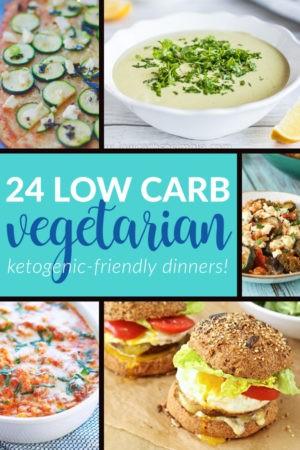 24 Vegetarian Keto Dinners