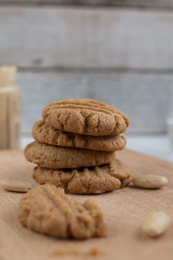 Flourless Cashew Butter Cookies | So Nourished