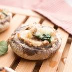 Lasagna-Stuffed Portobello Mushrooms Recipe