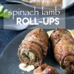 Spinach Lamb Roll-Ups Recipe