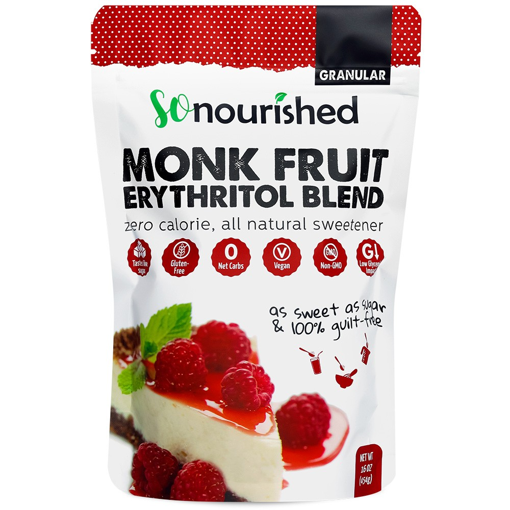 monk fruit and erythritol