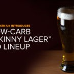 """Heineken UK Introduces Low-Carb """"Skinny Lager"""" to Lineup"""