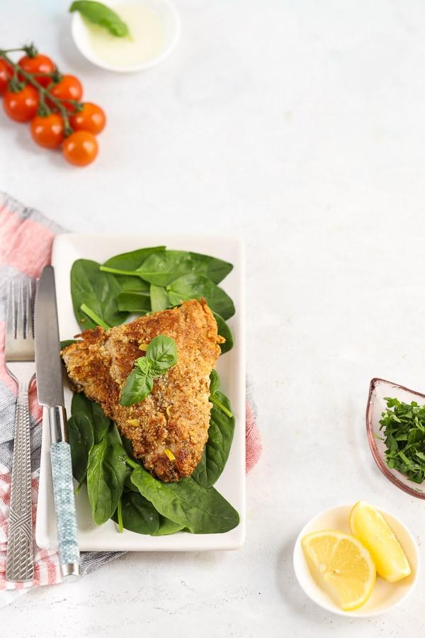 Lemon Herb-Crusted Fish Recipe