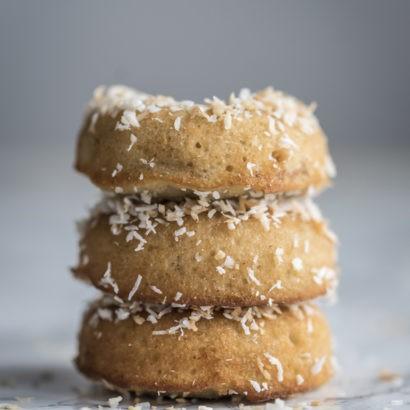 Keto Fried Coconut Donuts