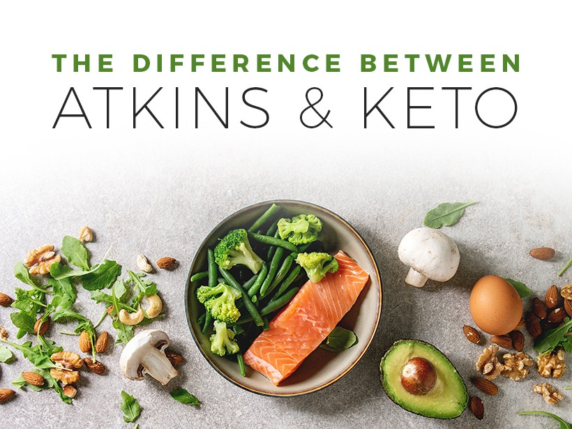 The Difference Between Atkins and Keto