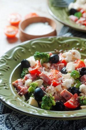 Keto Chopped Greek Summer Salad