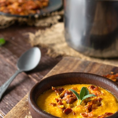 Low Carb Apple and Butternut Squash Soup