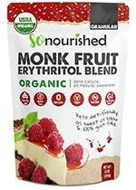 granular monk fruit erythritol