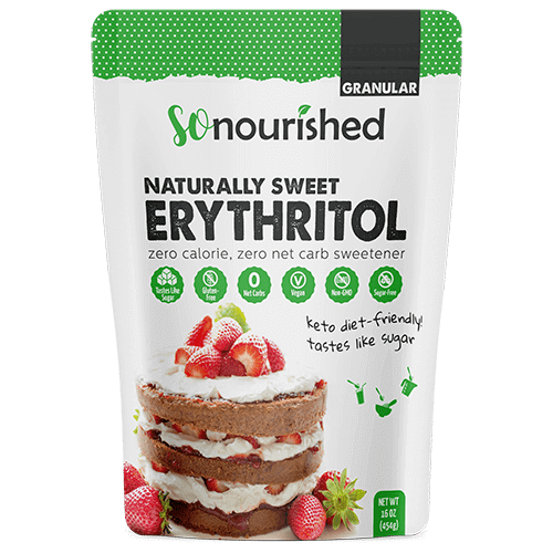 Granular Erythritol Sweetener | So Nourished