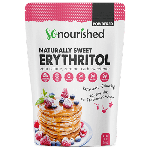 Powdered Erythritol Sweetener | So Nourished