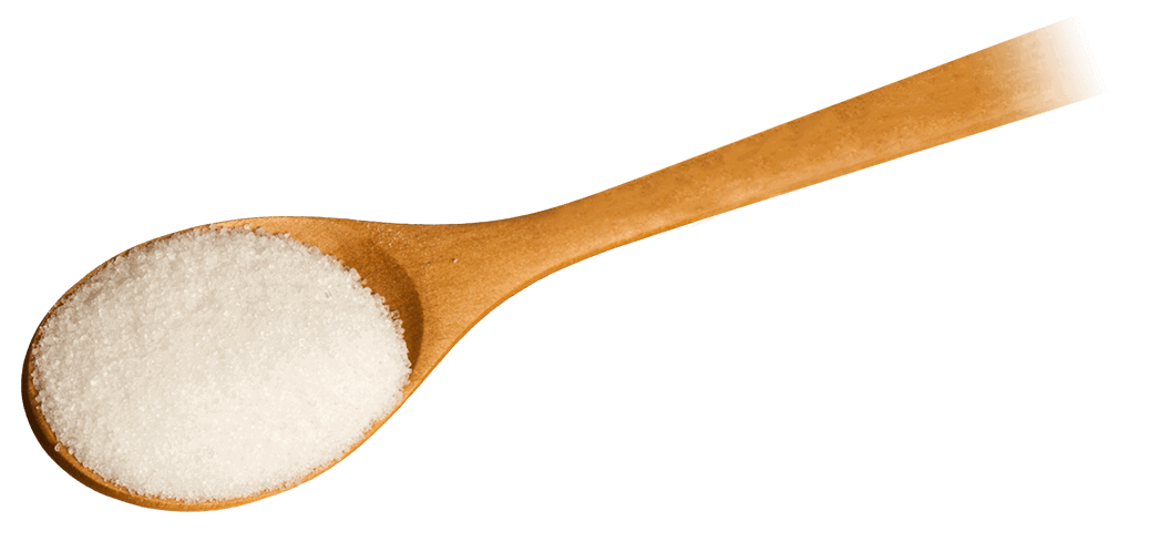sweetener in a spoon