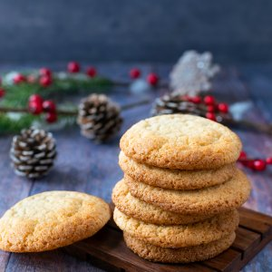 Keto Chewy Spiced Cookies
