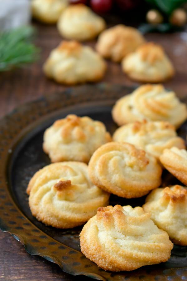 Christmas Keto Spritz Cookies