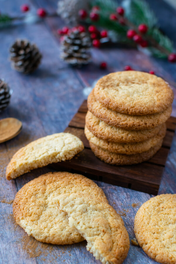 Low Carb Chewy Spiced Cookies