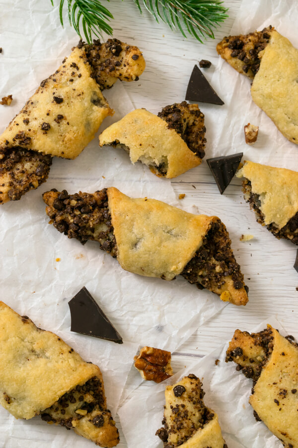 Low Carb Chocolate Rugelach