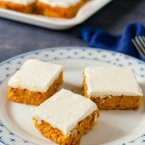 Keto Pumpkin Bars Recipe