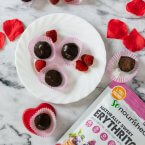 Keto Raspberry Chocolate Truffle Recipe