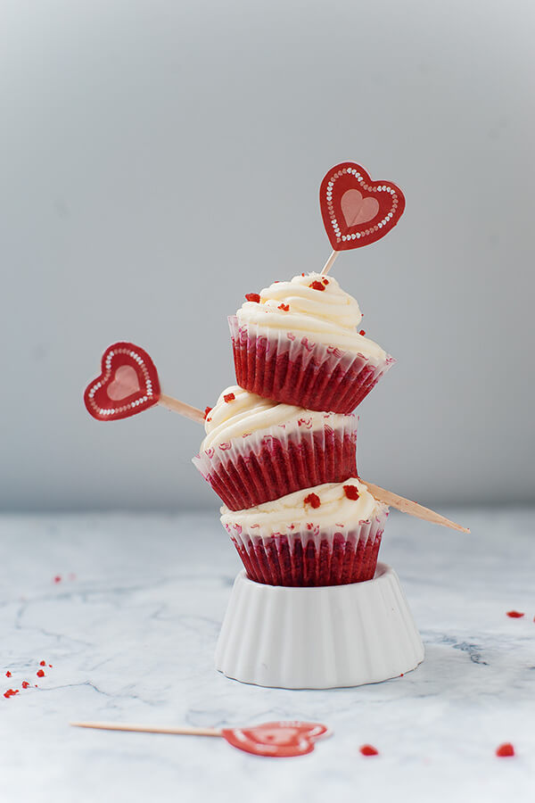 Low Carb Keto Red Velvet Cupcakes
