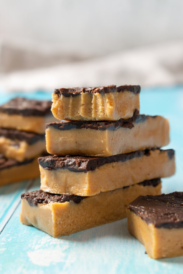 Low Carb Peanut Butter Bars