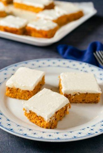 Keto Pumpkin Bars Recipe